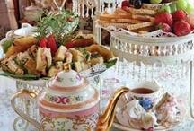 Food: Tea & Scones / by Judith Baer