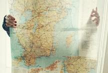 mapped / by Alexandra Wong