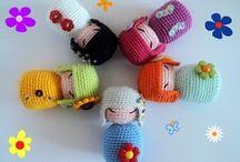 Crochet:  Dolls & Clothes / by Judith Baer
