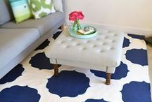 Rug Love / Rugs are cute! Here are some great DIY and good deals on how and where to find and/or make your own. / by Lolly Jane {lollyjane.com}