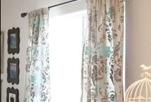 Curtains / Cute DIY curtains and all accessories related to hanging them quickly, cheaply and cutely.  / by Lolly Jane {lollyjane.com}