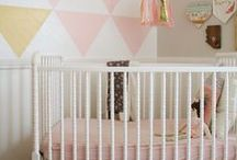 Girl Bedrooms / Pretty, frilly, ruffly, lovely. All things for the little ladies in your home!