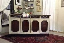 Painted Vintage/Shabby Chic Furniture