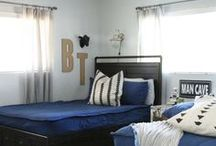 Boy Bedrooms / All things for the little men in your home. You can't prevent the smelly stench of boy (; BUT you can make it handsome!