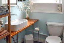 Bathroom - master / by Marissa VanWey