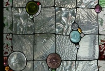 Stained glass / Beautiful colours and textures to inspire.