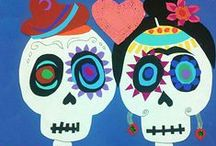 Dia de los muertos / Day of the Dead Art