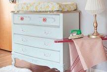 Nursery / Cute nursery decor ideas!