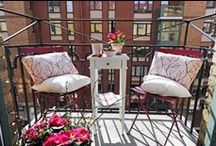 Garden & Balcony Inspiration / Ideas for small gardens and balconies