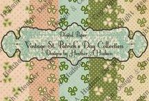 Digital Paper Packs / Vintage inspired Digital Papers that I have designed.