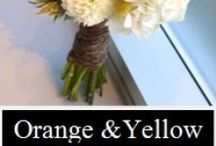 Oranges and Yellows by UnicoDecor / by Unico Decor Inc.