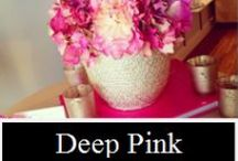Deep Pinks by UnicoDecor / Some of our favorite work from our finest deep pinks / by Unico Decor Inc.