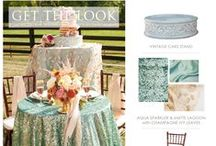 Get the Look! / Your guide to getting just the right items from Prime Time Party Rental to complete your look!