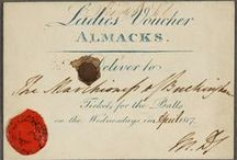 "Regency -- Almack's / All about the famous ""marriage mart"" of Regency London, and its patronesses."