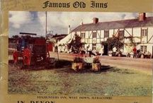 Famous Old Inns in Devon / Famous Inns in Old Devon -- Publishers: Hamilton-Fisher and Co., 3 Pimlico, Torquay, 1955.