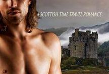 Lost in the Highlands Series / #timetravel #romance #scottish #hunkyhighlanders
