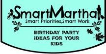 Smart Martha Birthday Party Ideas
