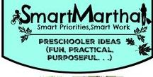 Smart Martha Preschooler Ideas