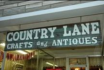 """My shop - Country Lane Crafts / Country Lane Crafts is located in Moundsville, WV. We sell country & primitive decor, including """"farm style"""" antiques. If you're in the area,stop in and say hi! Blog: countrylanecrafts.blogspot.com"""
