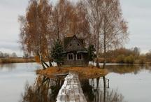 Cabin Sweet Cabin  / Ideas for new cabin / by Kinley McCaa