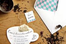 Cartões, Convites e  Envelopes / by Valéria Maria