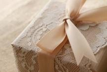 ~ Gift wrapping ~ / by Tamika Robis Gordon