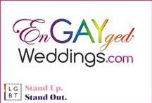EnGAYged Weddings Press & Media / LGBT wedding directory for the Lesbian, Gay, Bisexual, & Trans Community. Party & wedding planning inspiration, recipes, home ideas & news for LGBT families!