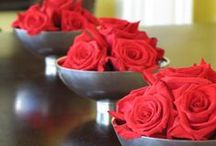 Red Weddings / Red wedding details and decor / by EnGAYged Weddings
