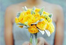 Yellow Weddings / Yellow wedding details and decor