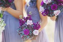 Purple Weddings / Purple wedding details and decor. 2014 Pantone Color of the Year is Radiant Orchid!