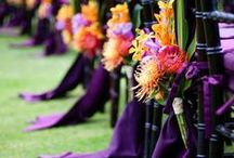 Wedding Ceremony / Ceremony Decor Inspiration. If you are planning by color please see our Wedding Pinterest Boards which are grouped by color.  / by EnGAYged Weddings