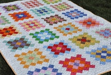 Granny Squared - Quilts / Granny Squares the Quilt Way / by Pleasant Home