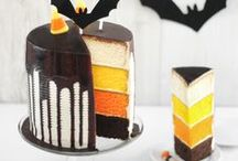 Halloween costumes, confections and crafts.