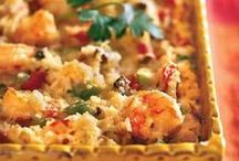 Casseroles / Casserole recipes including tuna casseroles, corn casseroles, cowboy casseroles, mexican casseroles, chicken casseroles, ground beef casseroles, potato casseroles, and pasta bakes.  ♥~~~~ Unless noted - each pin should link to a casserole recipe. If you find a pin that has a broken link - please leave a comment and I'll pull it! Thank you for your help! ~~~~♥