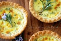 Quiche / Quiche recipes including crustless quiche, savory pies, souffles, spoon breads, and vegetable tarts. For more quiche recipe ideas (including homemade pie crusts) please visit our other Pinterest Boards: Pie Recipes, Brunch Recipes and Appetizer Recipes. ♥~~~~ Unless noted - each pin should link to a Quiche Recipe. If you find one that has a broken link - please leave a comment and I'll pull it! Thank you for your help! ~~~~♥