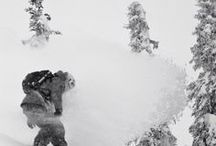 Snow |Verschneites / The clouds in heaven are made of deep, deep powder ...