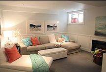Basement livingroom  / by Kristina Perry