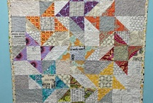 Light or Low  / Low Volume or Light Contrast Quilting  / by Pleasant Home