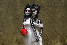 Halloween Weddings / Halloween wedding themes, ideas and inspiration. Please also see our Halloween Pinterest board for lots and lots of DIY Ideas for a Halloween themed wedding and reception.