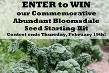 Contests & Giveaways! / by High Mowing Organic Seeds