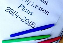 Lesson plans / by Tina Getts