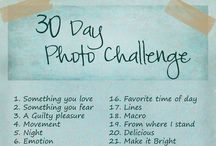 Photo challenges / by Nat Benoit