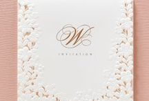 Affordable and Elegant Wedding Invitations / Absolutely stunning invitations for brides and grooms on a budget!