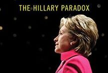 Binders full of Hillary Paradox #HillaryParadoxBook / Love Her Not, Love Her Not: The Hillary Paradox is proof that Hillary Clinton is an enigma to many. Here is a collection of ideas, articles and other things Hillary > neither pro-nor-con, a bit of both!  #women #boomerwomen  / by Helen Jonsen