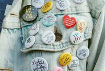 Patches, Buttons, & Pins / I want to cover my coat with these.