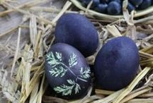 Easter | Österliches / Easter DIY, natural dyeing & little presents
