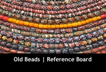 Old Beads Reference Board / Predominately African Trade Beads. / by Monika Ettlin