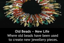 Old Beads - New Life. / This board is dedicated to handcrafted, one off pieces of jewellery that has been created in the spirit of treasuring the old or antique.    / by Monika Ettlin