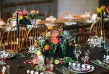 Table Top | Ideas for Entertaining / My favorite table settings, flower arrangements, and other entertaining ideas!