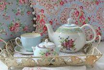 Tea Sets / Tea is something you DO! / by Jane Ellis